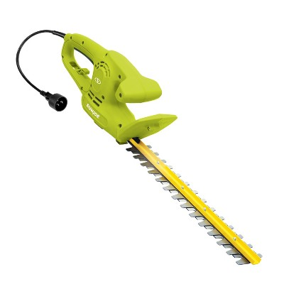 Sun Joe HJ15HTE Electric Hedge Trimmer | 3.8 Amp | 15-Inch