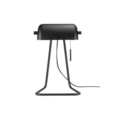 "15"" Harrison Bankers Task Lamp Matte Black - Globe Electric"