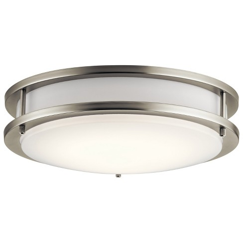 "Kichler 10784LED 1 Light 11.75"" Wide LED ADA Energy Star Flush Mount Ceiling Fixture - image 1 of 1"
