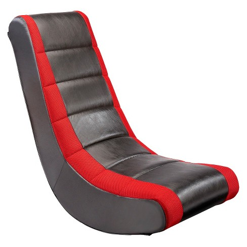 Surprising Video Rocker Gaming Chair Black Red The Crew Furniture Ocoug Best Dining Table And Chair Ideas Images Ocougorg