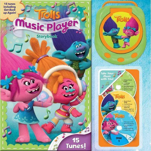 DreamWorks Trolls Music Player Storybook - (Hardcover) - image 1 of 1