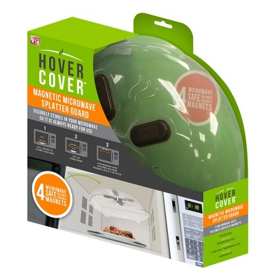 As Seen on TV Hover Cover Magnetic Microwave Splatter Guard