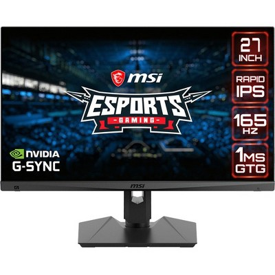 "MSI Optix MAG274QRF 27"" WQHD LED Gaming LCD Monitor - 16:9 - Black - 27"" Class - In-plane Switching (IPS) Technology - 2560 x 1440"