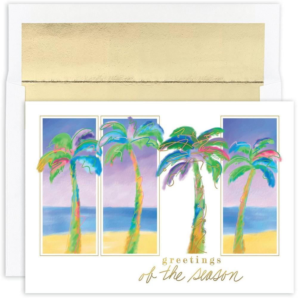 Image of 18ct Palm Trio Greeting Cards - Masterpiece Studio