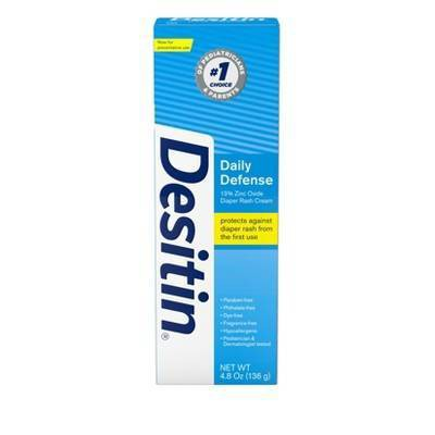 Desitin Rapid Relief Diaper Rash Treatment 4.8oz