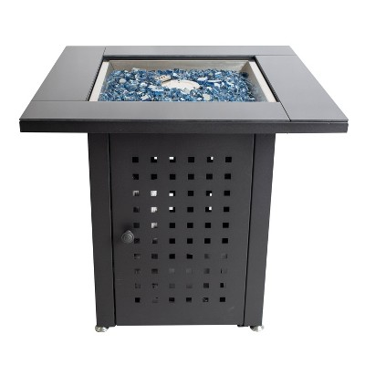 Pleasant Hearth Lockwood Gas Fire Pit Table