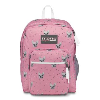 """Trans by JanSport 17"""" SuperMax Backpack - Fierce Frenchies"""