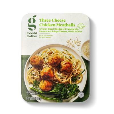 Three Cheese Chicken Meatballs - 12oz - Good & Gather™