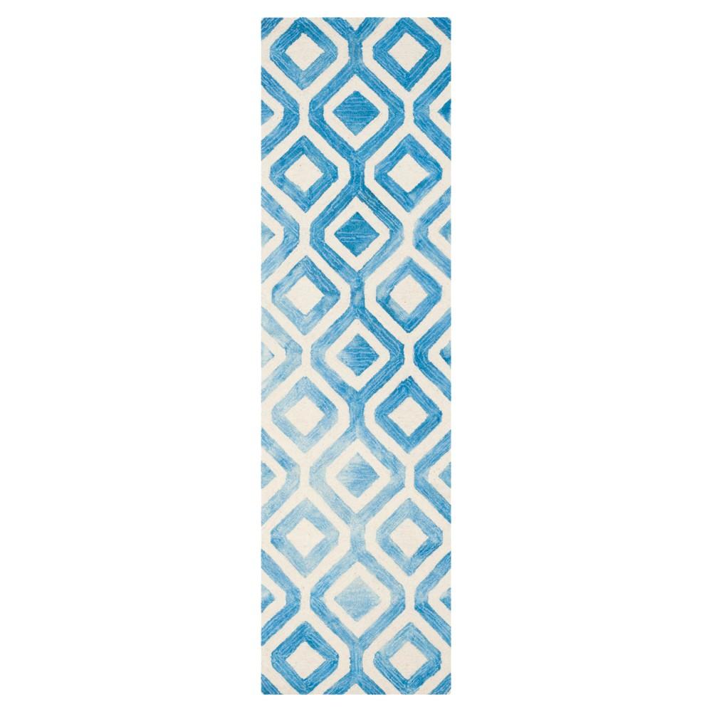Deon Area Rug - Ivory/Blue (2'3x8') - Safavieh