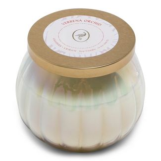 14oz Lidded Glass Jar Candle Verbena Orchid - Floral Collection - Opalhouse™