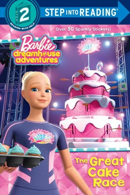 The Great Cake Race (Barbie Dreamhouse Adventures) - (Step Into Reading) by  Random House (Paperback)