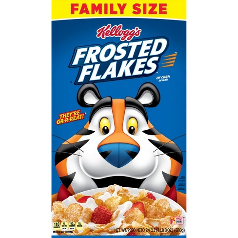 Frosted Flakes Breakfast Cereal - 24oz - Kellogg's - image 1 of 10