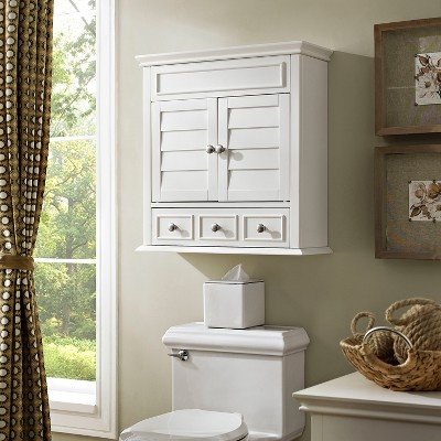 Lydia Wall Cabinet in White