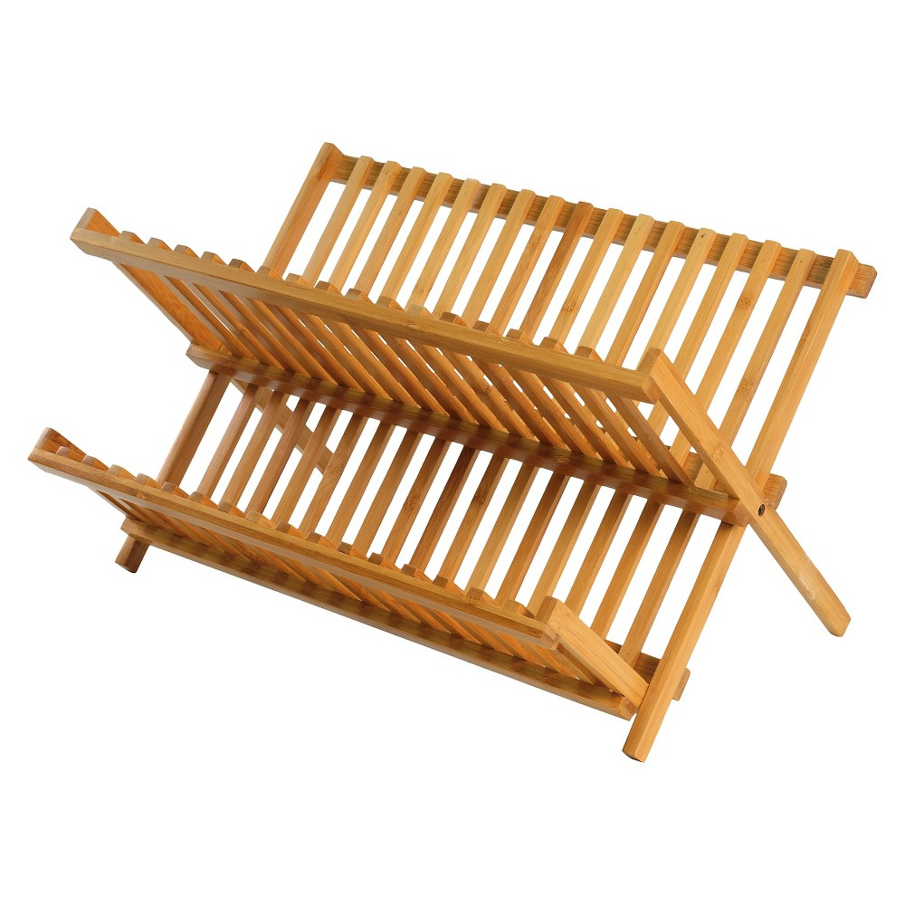 Image of Bamboo Dish Drying Rack - Threshold