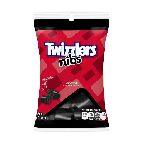Twizzlers Nibs Black Licorice Candy - 6oz - image 1 of 3