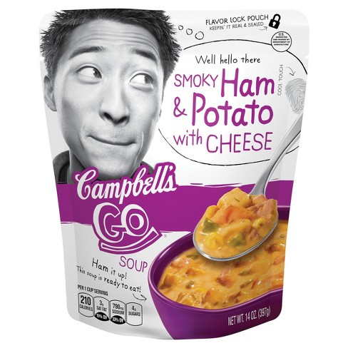 Campbell's® Go™ Smoky Ham & Potato with Cheese Soup 14 oz - image 1 of 5