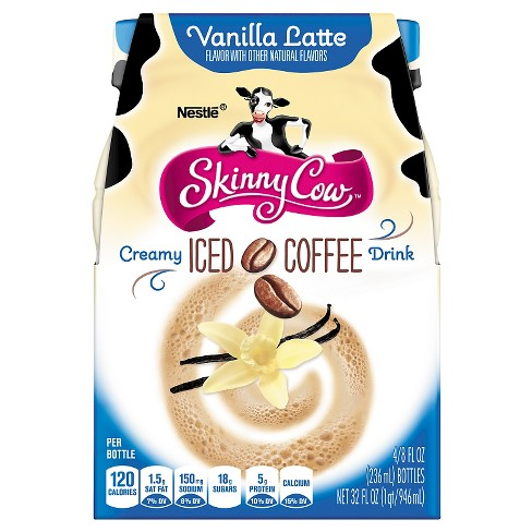 Skinny Cow Iced Coffee Vanilla - 4pk/8 fl oz Bottles - image 1 of 4