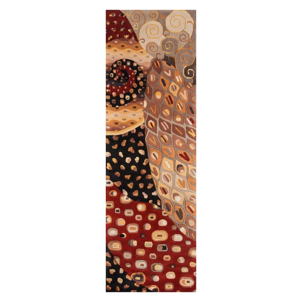 2'6X8' Shapes Tufted Runner - Momeni, Multi-Colored