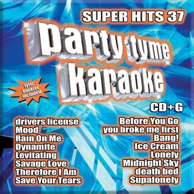 Party Tyme Karaoke - Super Hits 37 (16-song CD+G)
