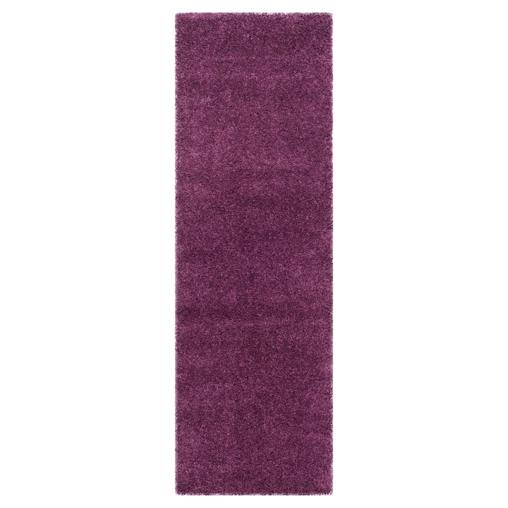 Quincy Runner - Purple (2' 3 X 21') - Safavieh