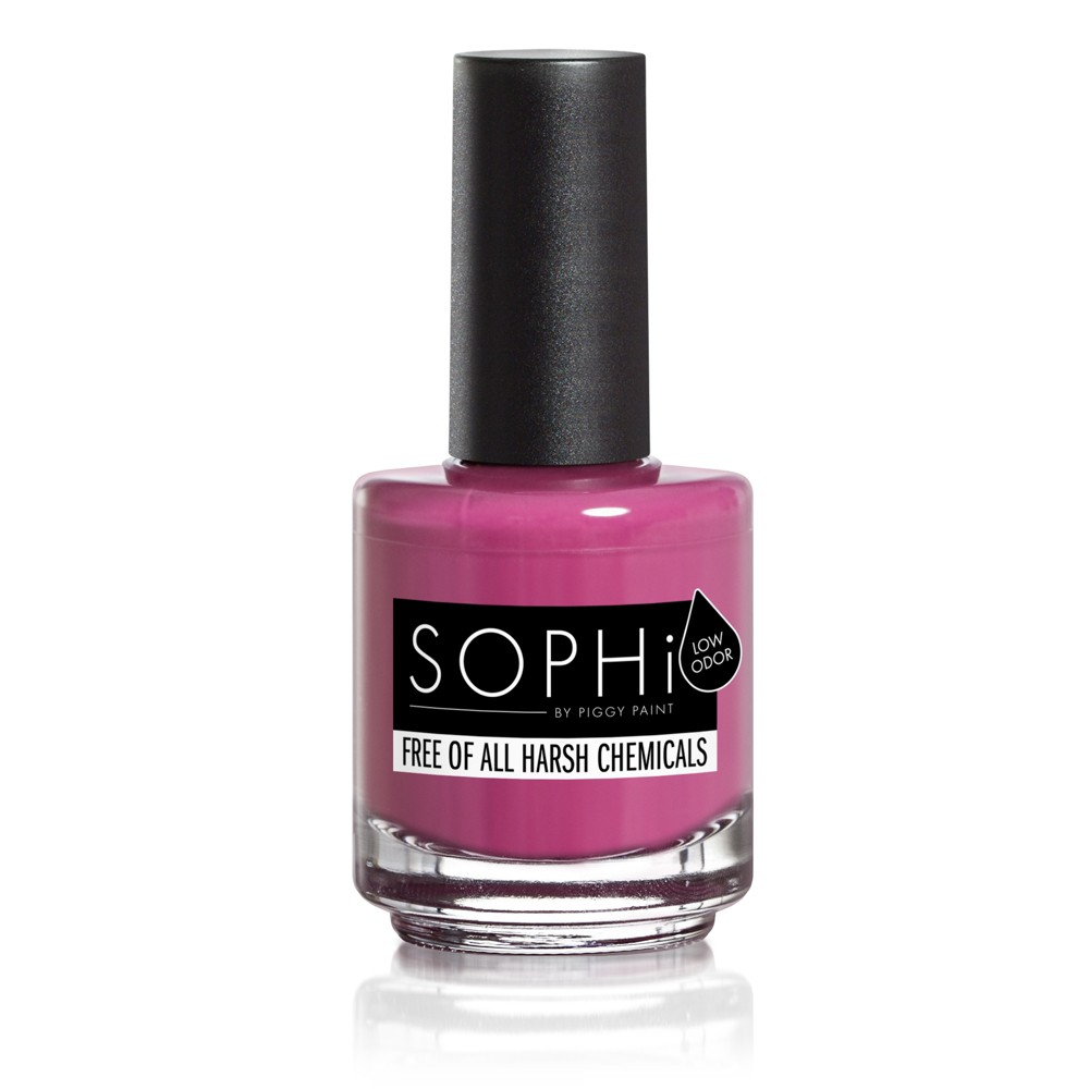 Image of SOPHi by Piggy Paint Non-Toxic Nail Polish 2.2oz - PLUM-P Up the Volume