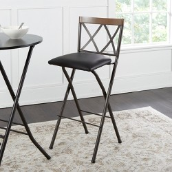 Astounding 30 Keira Padded Back Folding Bar Stool Target Camellatalisay Diy Chair Ideas Camellatalisaycom