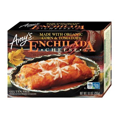 Amy's Organic Corn & Tomatoes Frozen Enchilada - 9oz