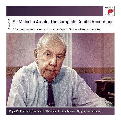 Malcolm arnold - Sir malcolm arnold:Complete conifer r (CD) - image 1 of 1