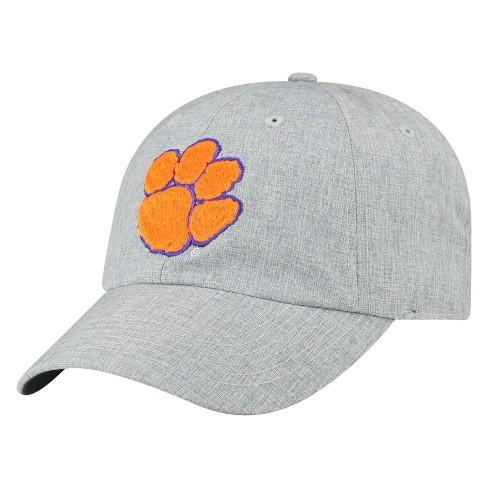 Clemson Tigers Baseball Hat Grey - image 1 of 2