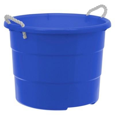 Plastic Rope Tub 18gal - Blue