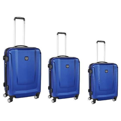 FUL 3pc set Load Rider Luggage - Cobalt - image 1 of 3