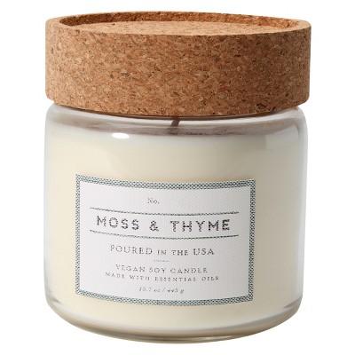 Glass Jar Candle Moss & Thyme 12oz - Smith & Hawken™