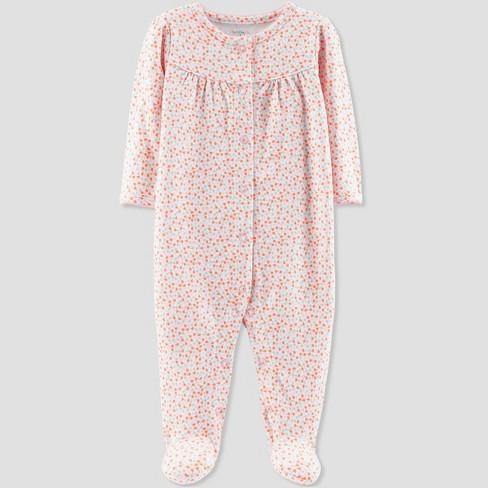 68fe66a4d6d4 Baby Girls  Floral Print Sleep  N Play - Little...   Target