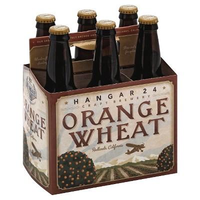 Hangar 24 Orange Wheat Beer - 6pk/12 fl oz Bottles