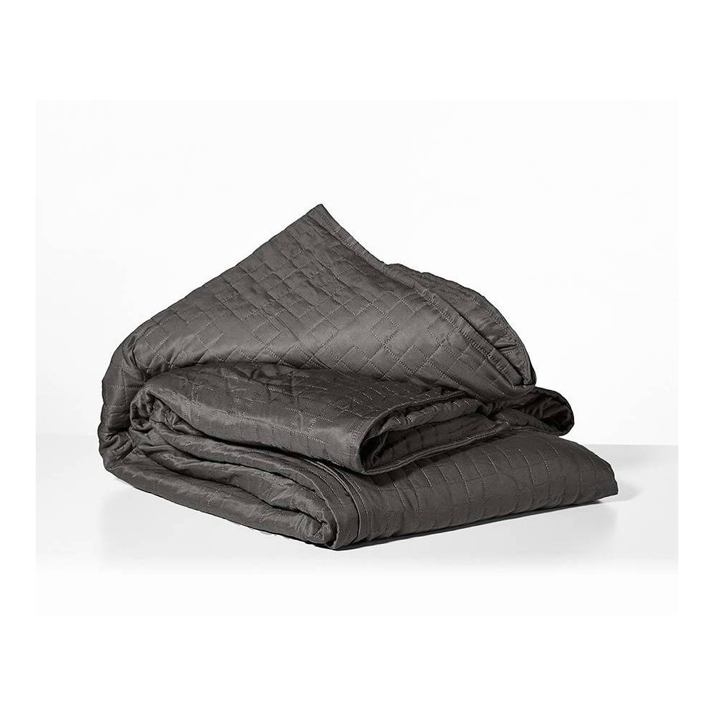 """Image of """"48"""""""" x 72"""""""" Cooling 15lbs Weighted Blanket with Removable Cover Gray - Gravity"""""""