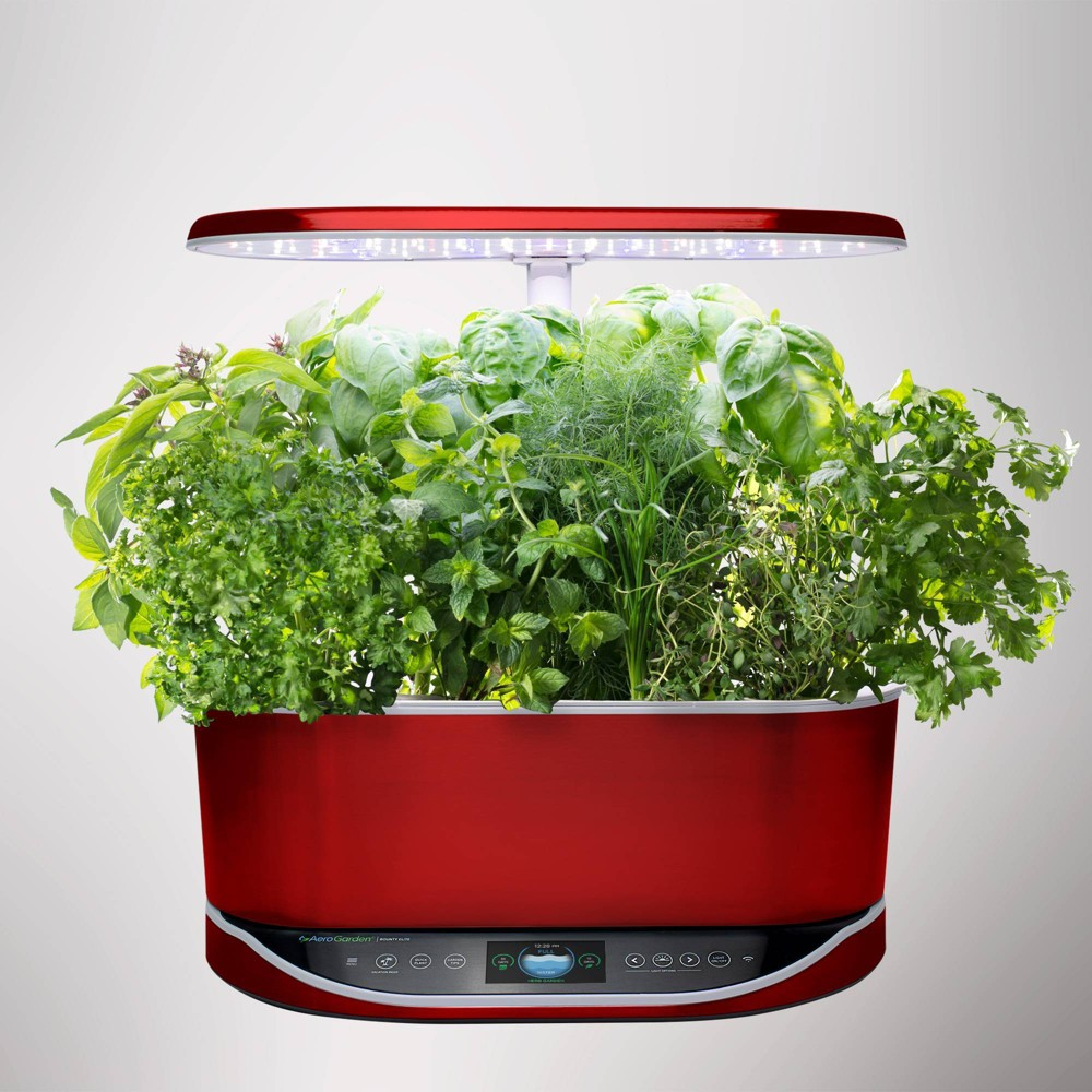 Image of Bounty Elite Planter Set Red- Aerogarden