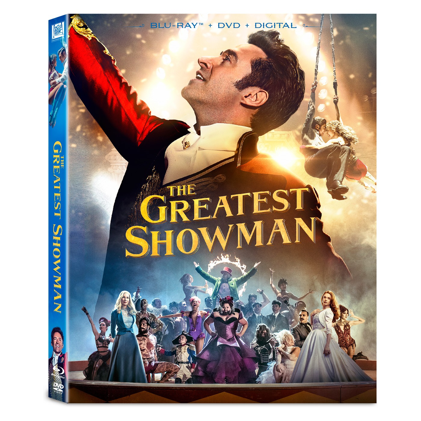 The Greatest Showman (Blu-ray + DVD + Digital) - image 1 of 1