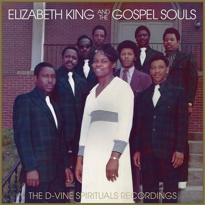 Elizabeth  King &  The Gospel Souls - D-Vine Spirituals Recordings (Vinyl) - image 1 of 1