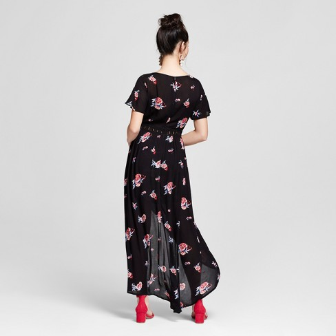 4a3bea21b2ea Women s Floral Print Short Sleeve Walk-Through...   Target