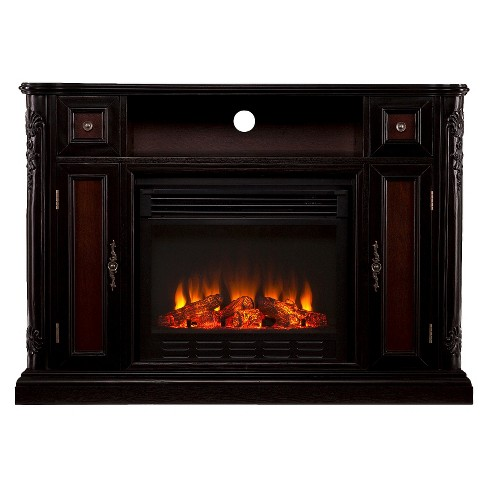 Janelle Electric Media Fireplace - Dark Tobacco - image 1 of 2