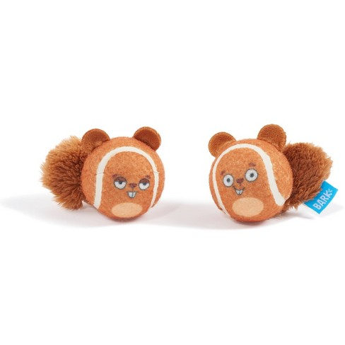 Bark Double Trouble Squirrel Balls Dog Toy - image 1 of 4