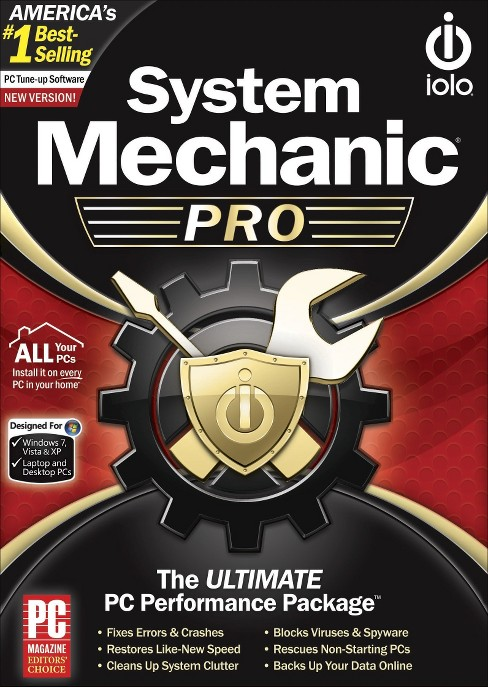 System Mechanic Pro PC Software - image 1 of 1