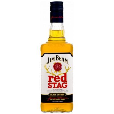 Jim Beam Red Stag Black Cherry Bourbon Whiskey - 750ml Bottle