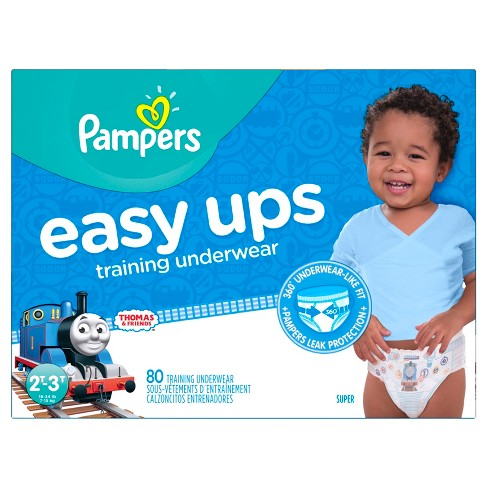 pampers easy ups thomas friends training underwear select size