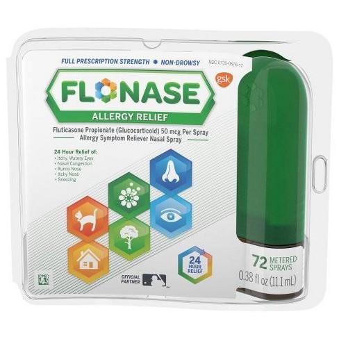 Flonase Allergy Relief Nasal Spray - Fluticasone Propionate - image 1 of 3
