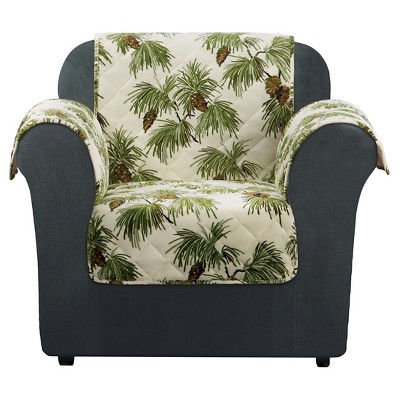 Furniture Flair Pinecone Chair Cover Ivory - Sure Fit