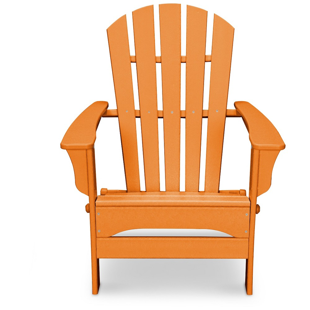 Polywood St Croix Orange Patio Adirondack Chair - Exclusively At Target