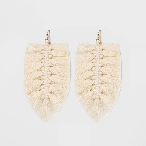 Braided Thread Drop Earrings - Universal Thread™ - image 1 of 2