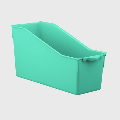 4ct Connected File Folder Teal - Bullseye's Playground™