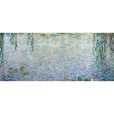 'Waterlillies Morning II' by Claude Monet Ready to Hang Canvas Wall Art